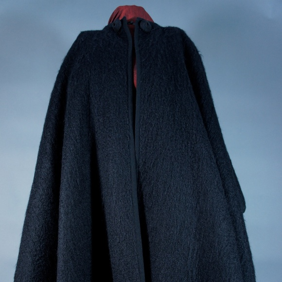 Yves Saint Laurent Jackets & Blazers - VINTAGE YSL MOHAIR WOOL CAPE